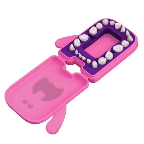 Porta Dentinhos Rosa Angie