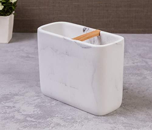 Porta Escova de Dentes Roman Etna Branco