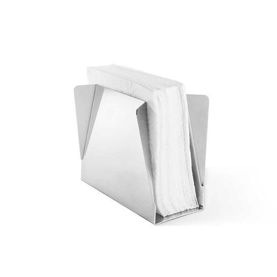 Tudo sobre 'Porta Guardanapo Vertical Inox Ritratto'