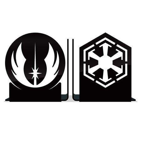 Tudo sobre 'Porta Livros Jedis Vs Sith'