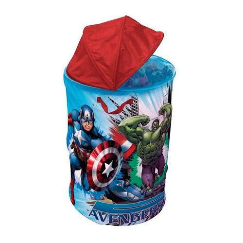 Tudo sobre 'Porta Objeto Vingadores Marvel Zippy Toys'