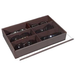 Tudo sobre 'Porta Óculos - Marrom Laca'