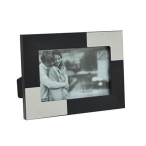 Porta Retrato 10x15cm D&A - Preto e Branco