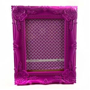 Porta Retrato 15X20Cm Plastico Queen Rosa