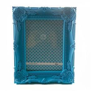 Porta Retrato 15X20Cm Plastico Queen Verde