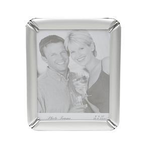 Porta Retrato de Alumínio Escovado 10cmx15cm Rojemac Prata