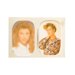 Porta-retrato Duplo 9 X 13 Cm - Branco
