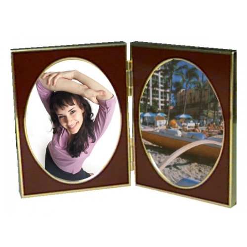 Porta-retrato Duplo 9 X 13 Cm