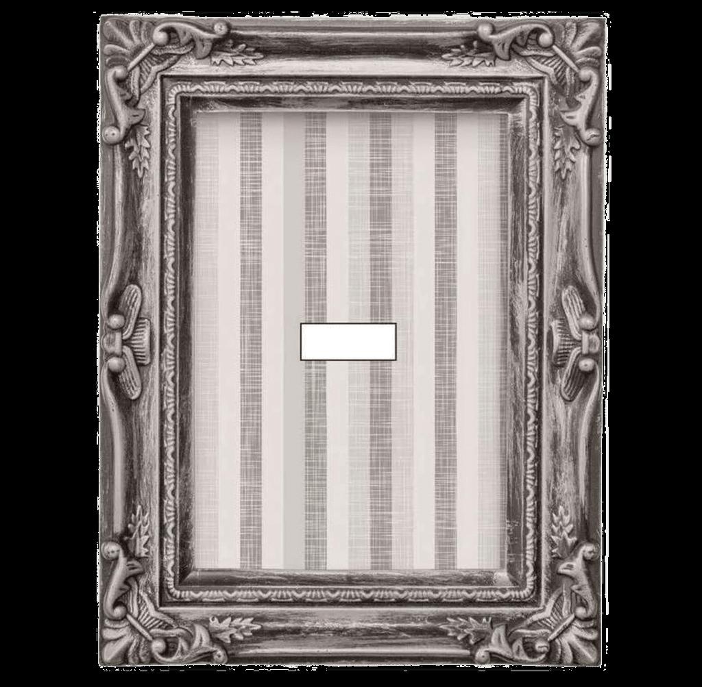 Porta Retrato Prata 13 X 18