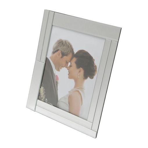Porta Retrato Prata para 1 Foto 13x18cm Euno Prestige