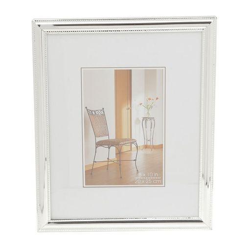 Porta Retrato Prata para 1 Foto 10x15cm Portugal Prestige