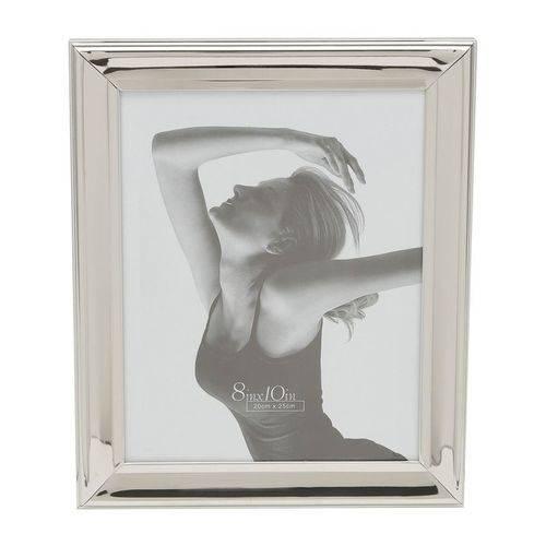 Porta Retrato Prata para 1 Foto 13x18cm Sunshine Prestige