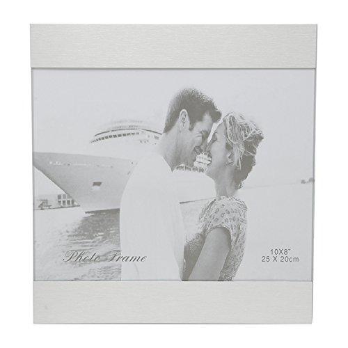 Porta Retrato Prata para 1 Foto 10x15cm Grete Prestige