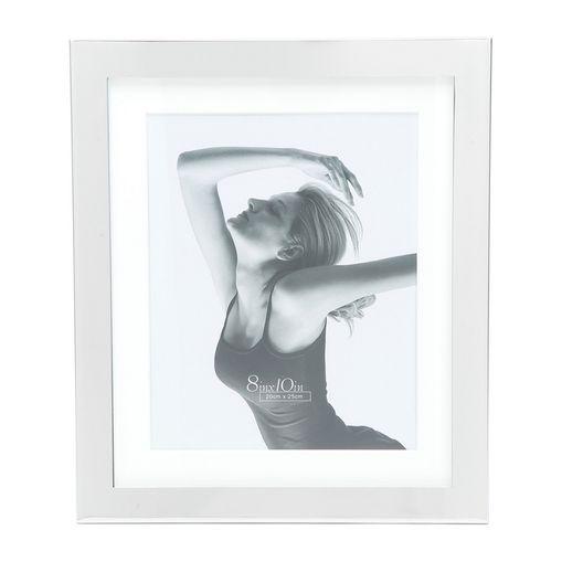 Porta Retrato Prata para 1 Foto 10x15cm Lamel Prestige