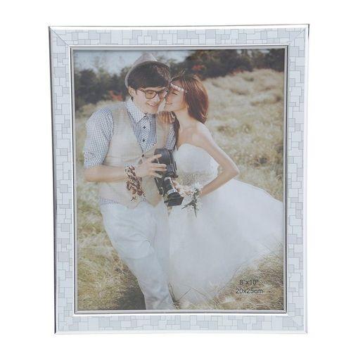 Porta Retrato Prata para 1 Foto 10x15cm Jacob Prestige