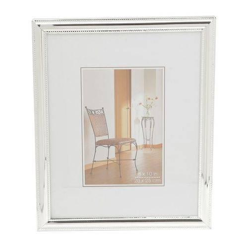 Porta Retrato Prata para 1 Foto 13x18cm Portugal Prestige