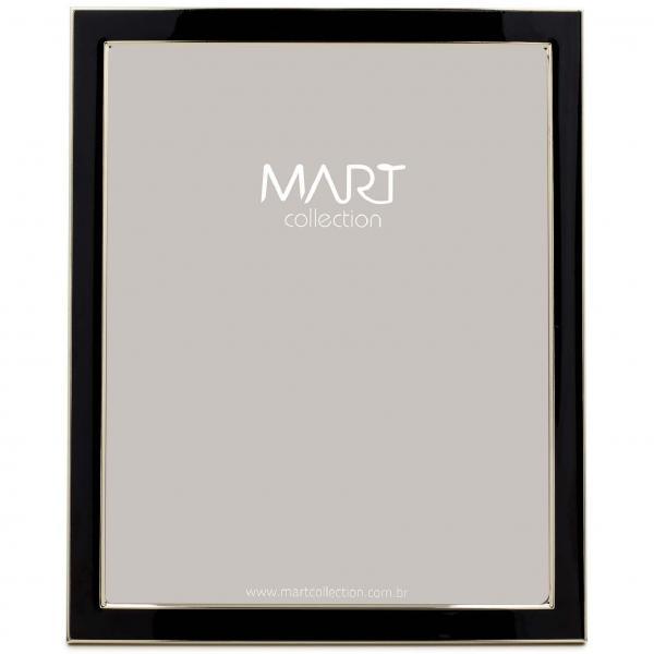 Porta-retrato Preto em Metal - 20x25 - Mart