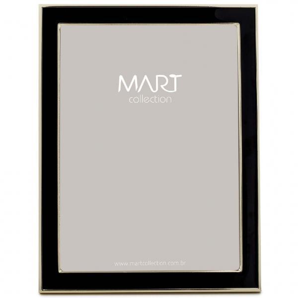 Porta-retrato Preto em Metal - 15x20 - Mart