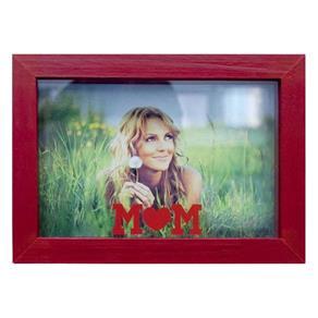 Porta Retratos de Mesa para Foto 10x15 Cm - Vermelho