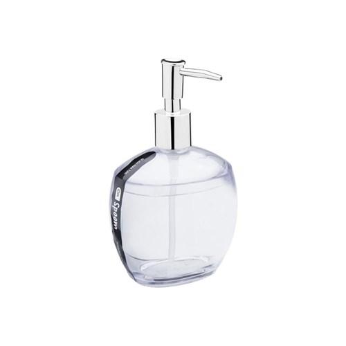 Porta Sabonete Liquido Spoom Cristal 300Ml