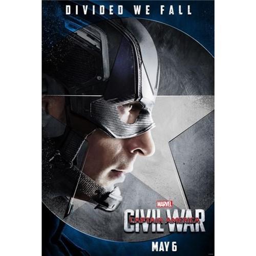 Poster Capitão América: Guerra Civil #B 30x42cm