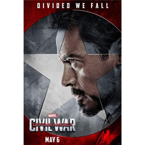 Poster Capitão América: Guerra Civil #D 30x42cm