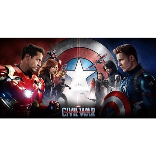 Poster Capitão América: Guerra Civil #F 30x42cm