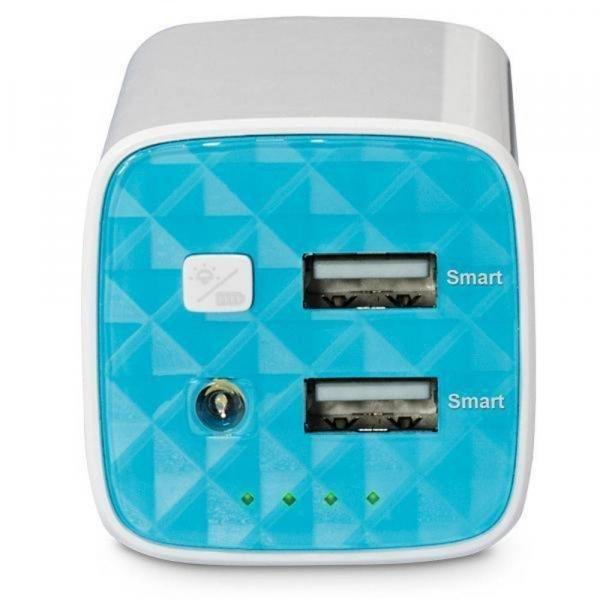 Power Bank para Celular -10400 Mah Tp-link Branco Tl-pb10400 Bivolt