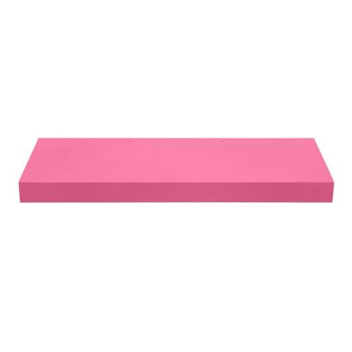 Prateleira com Suporte 60x25cm Madeira Rosa Muve