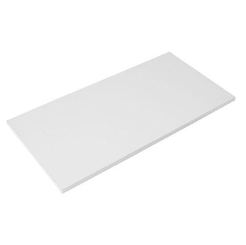 Prateleira Sem Suporte 60x30cm Madeira Branca Foil Casa Fácil
