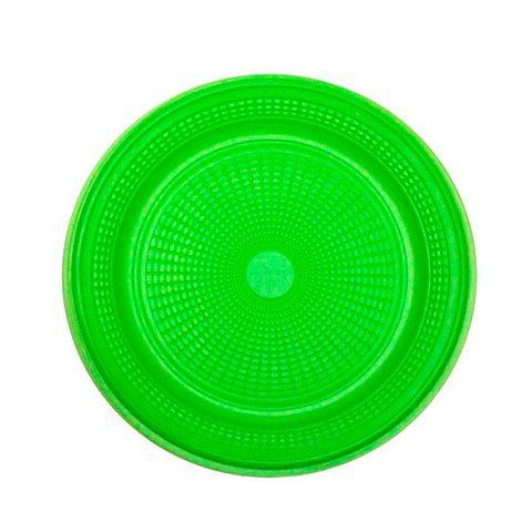 Tudo sobre 'Prato Descartável para Bolo Verde 15cm C/10 - Trik Trik'