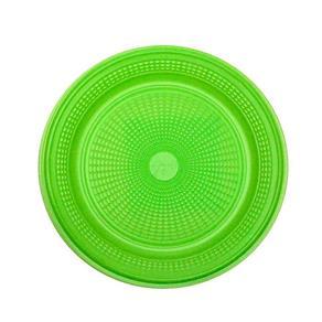 Prato Descartável para Bolo Verde com 10 - Trik Trik
