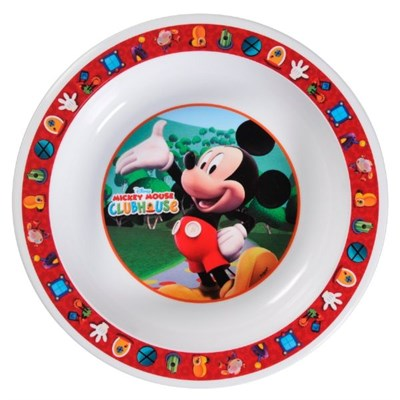 Tudo sobre 'Prato Fundo Mickey - Cumbuca - Unidade'