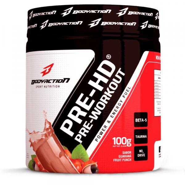 Pré-HD Pre-Workout (100g) - Body Action Sabor:Guaraná