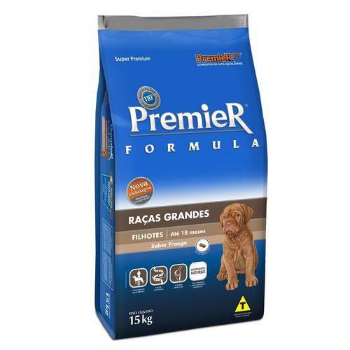 Tudo sobre 'Premier Raças Grandes Cães Filhotes 15kg Frango'