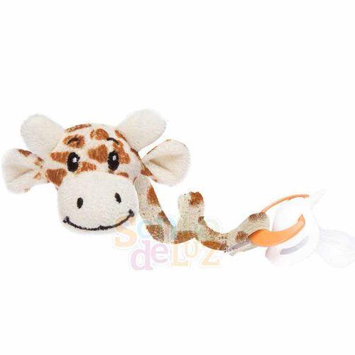 Prendedor de Chupeta Girafa - Sonho de Luz