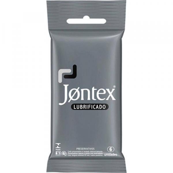 Preservativo Jontex Lubrificado - 6 Unidades - Reckitt