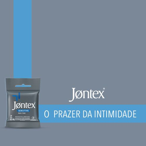 Preservativo Jontex Sensitive 3 Unidades