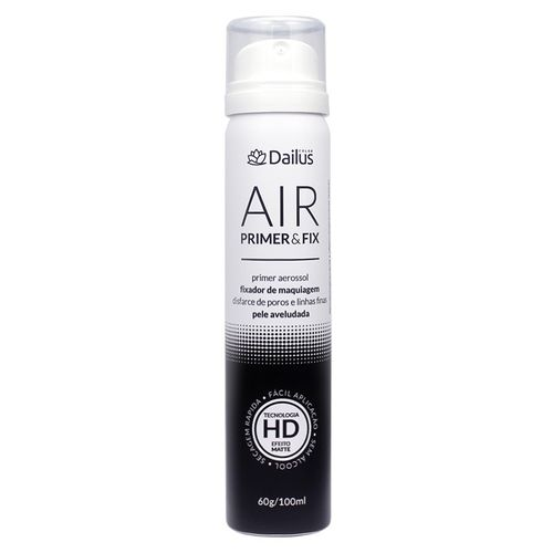 Primer e Fix Dailus Air Fixador de Maquiagem 100ml