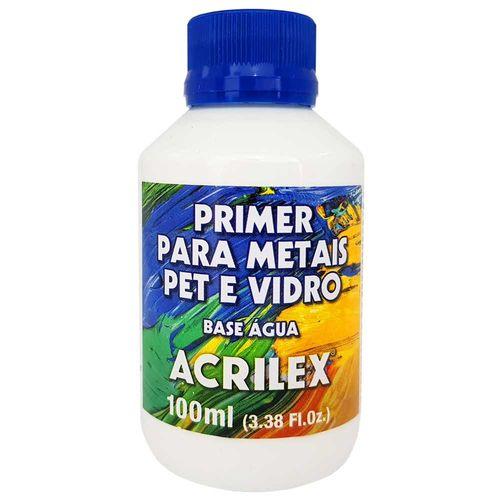 Primer para Metais, Pet e Vidro 100ml Acrilex 1014121