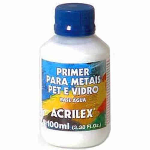 Primer para Metais Pet e Vidro 100ml Acrilex