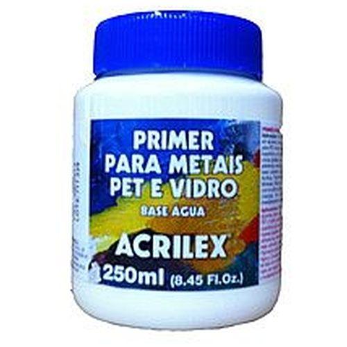 Primer para Metais Pet e Vidro Acrilex 250Ml
