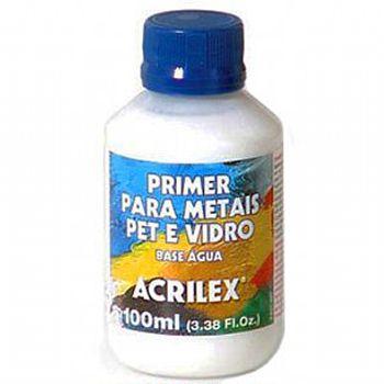 Primer para Metais Pet Vidro 100ml - Acrilex