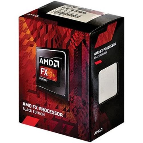 Processador Am3+ Fx-4300 - Quad Core 3.7/4.0 Ghz 4mb + 4mb de Cache - Fd4300wmhkbox