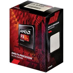 Processador AMD FX 4300 3.8GHz Black Edition Cache 8Mb AM3+ FD4300WMHKBOX FX-4300