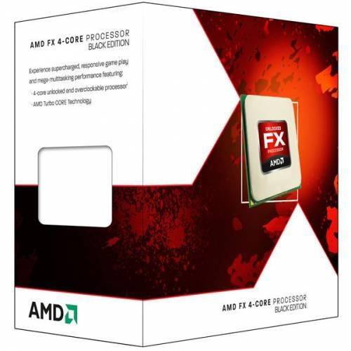 Processador Amd Fx-4300 Black Edition 3.8ghz Am3 - Fd4300wmhkbox