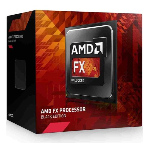 Processador Amd Fx 6300 Black Edition 14mb 3.5-3.8ghz Am3+ Fd6300wmkbox