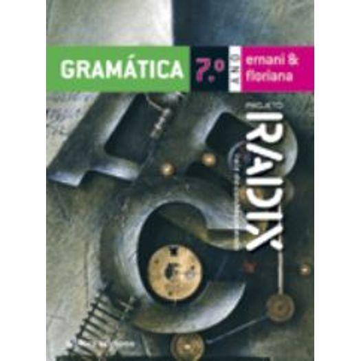 Tudo sobre 'Projeto Radix Gramática - 7 Ano'