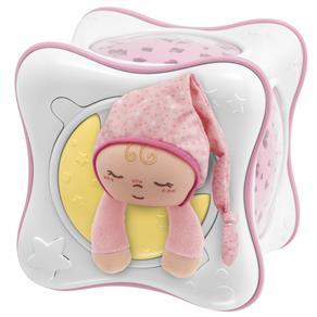 Projetor Chicco First Dreams Rainbow Cube - Rosa