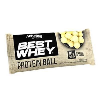 Protein Ball Best Whey - 1 Unidade Chocolate Branco - Atlhetica